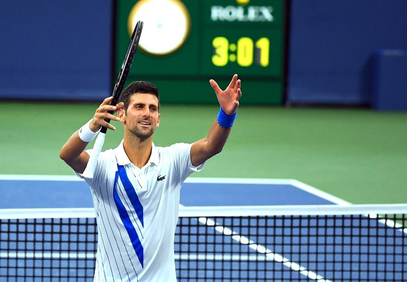 Djokovic kéo dài chuỗi toàn thắng lên 22-0 - ảnh 1