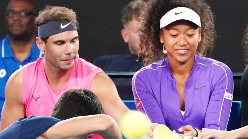 Nadal và Osaka cùng thăng hoa với Laureus - ảnh 2