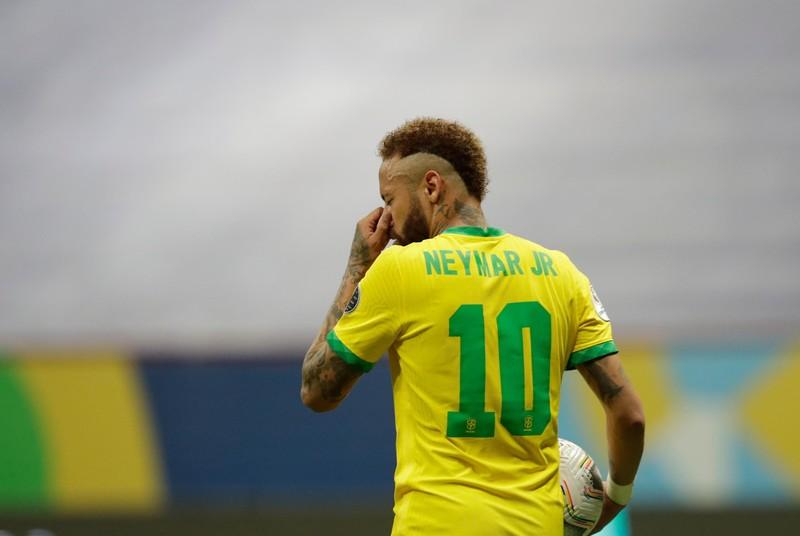 Neymar 'nổ súng' ở Copa, áp sát kỷ lục huyền thoại Pele - ảnh 1