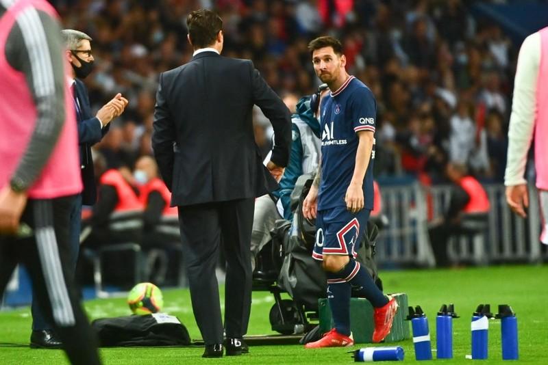 Messi bất mãn quyết định thay người của Pochettino - ảnh 4