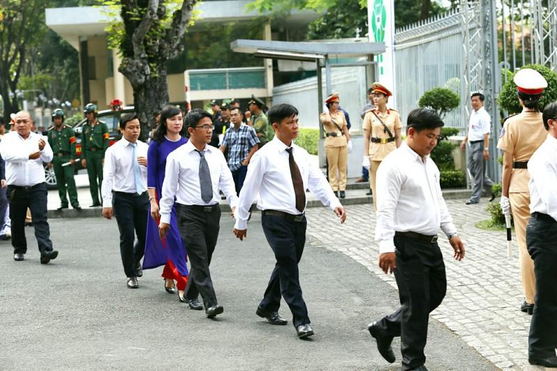 Nhiều đoàn đến viếng cố Thủ tướng Phan Văn Khải  - ảnh 12