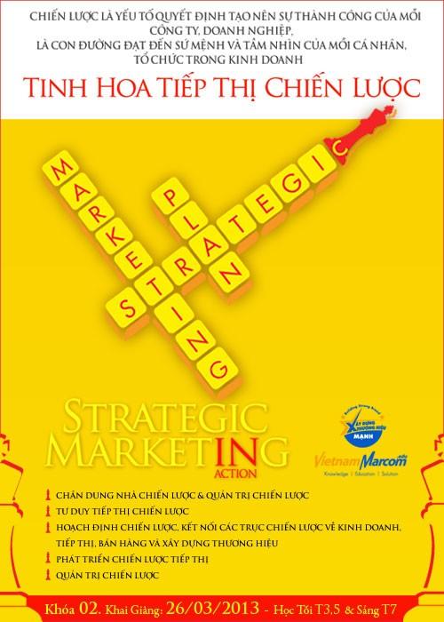 Khóa học Tinh hoa Tiếp thị Chiến lược - Strategic Maketing in Action - ảnh 1