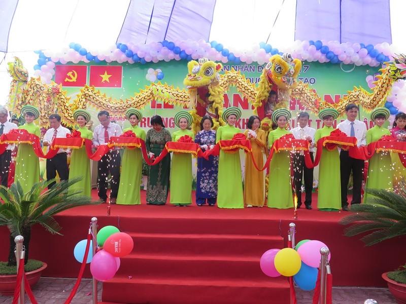 Khánh thành trường mầm non cho con em công nhân KCX Tân Thuận - ảnh 1