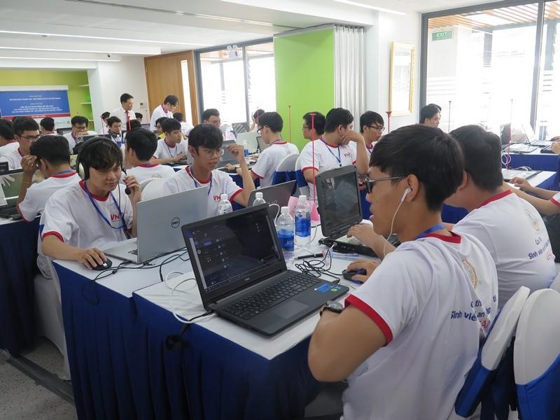 Sinh viên thi tài về an toàn thông tin ASEAN 2019 - ảnh 7