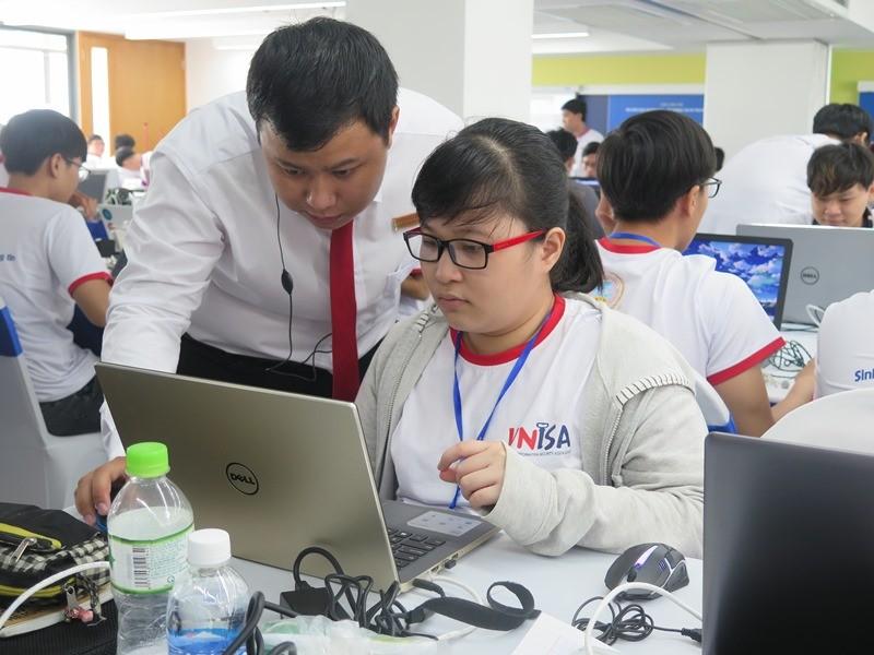 Sinh viên thi tài về an toàn thông tin ASEAN 2019 - ảnh 2