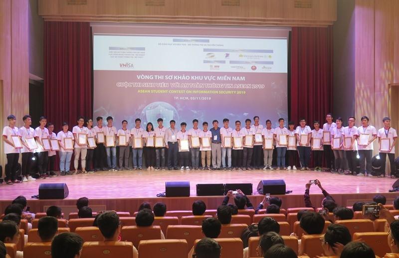 Sinh viên thi tài về an toàn thông tin ASEAN 2019 - ảnh 1