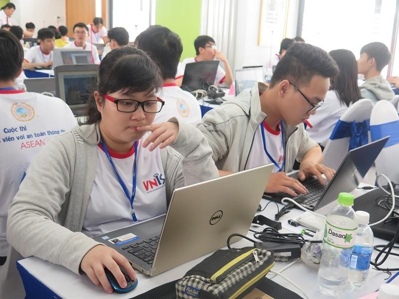 Sinh viên thi tài về an toàn thông tin ASEAN 2019 - ảnh 6