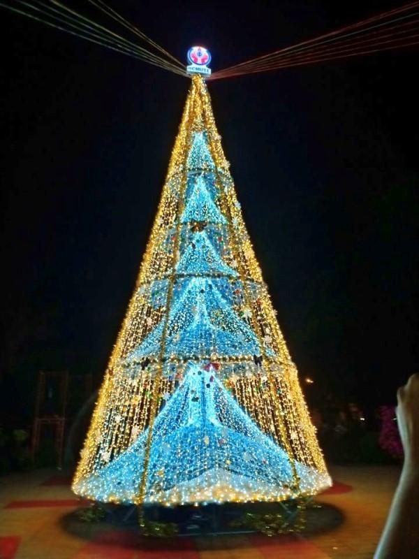 Ngắm cây Giáng sinh 11 m thông minh do sinh viên thiết kế - ảnh 10