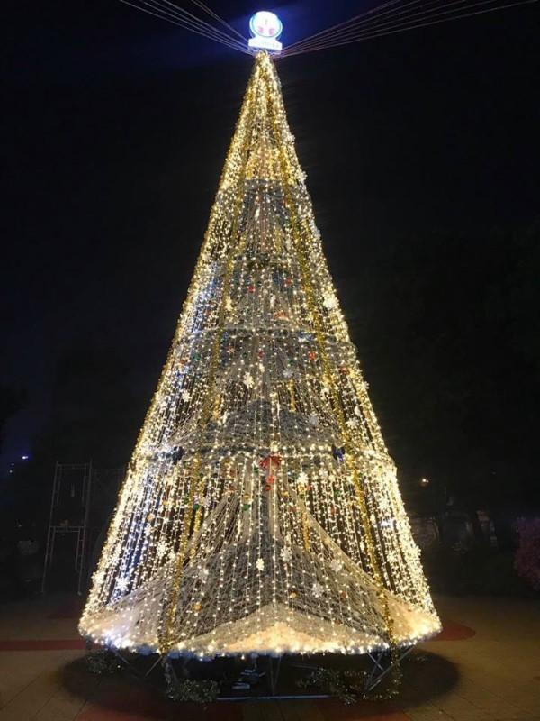 Ngắm cây Giáng sinh 11 m thông minh do sinh viên thiết kế - ảnh 8