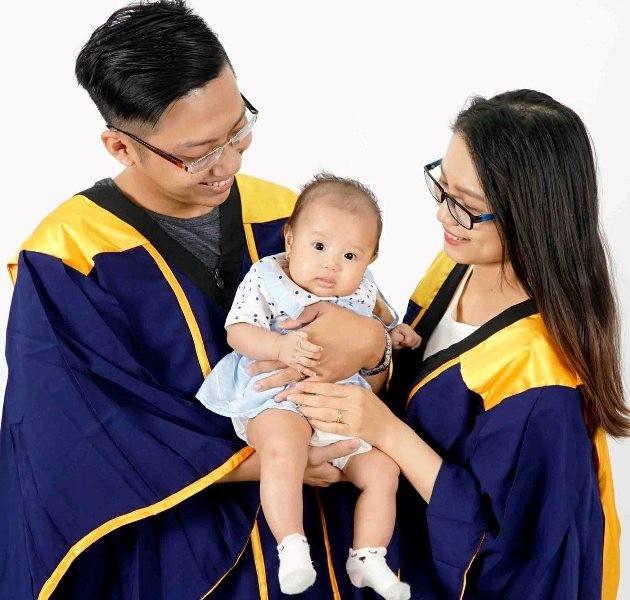 Hai vợ chồng học cùng khoa, cùng tốt nghiệp đại học loại giỏi - ảnh 2