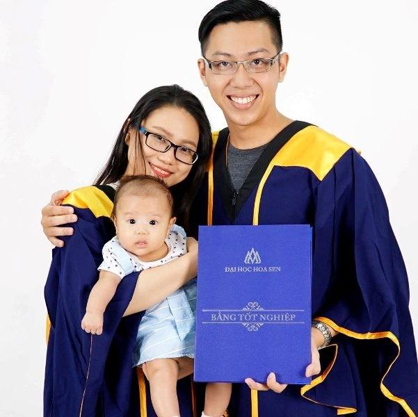 Hai vợ chồng học cùng khoa, cùng tốt nghiệp đại học loại giỏi - ảnh 3