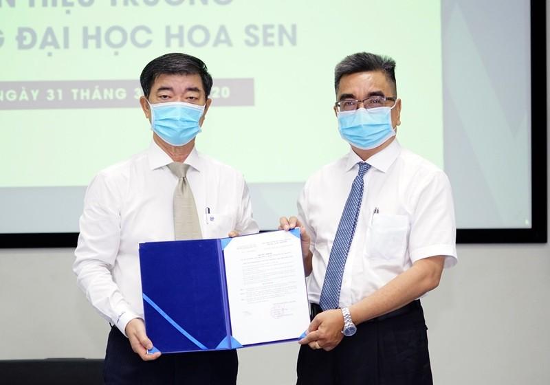 PGS-TS Nguyễn Ngọc Điện làm hiệu trưởng Trường ĐH Hoa Sen  - ảnh 1