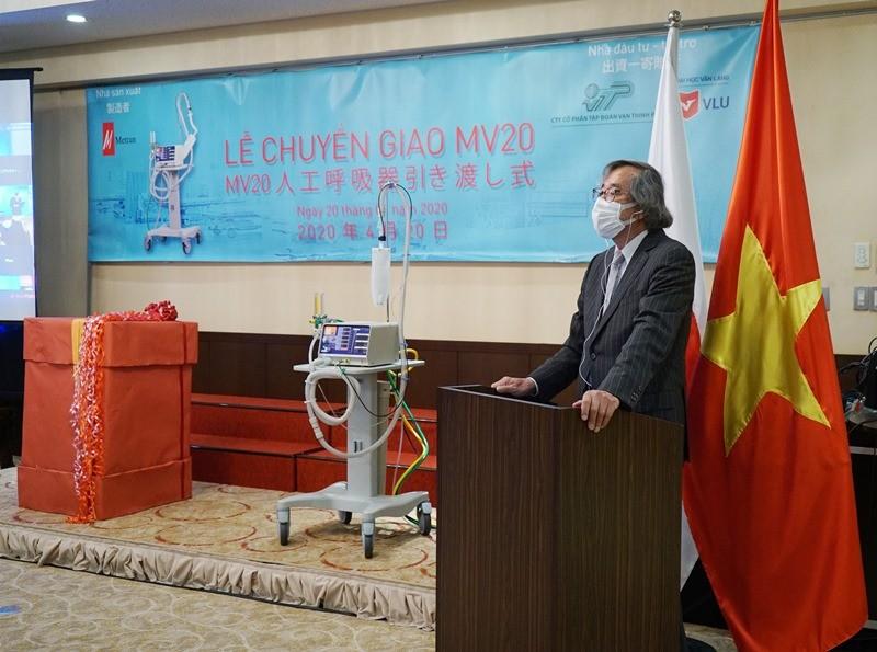 Chuyển giao 2 máy thở đầu tiên cho Việt Nam ứng phó COVID-19 - ảnh 2