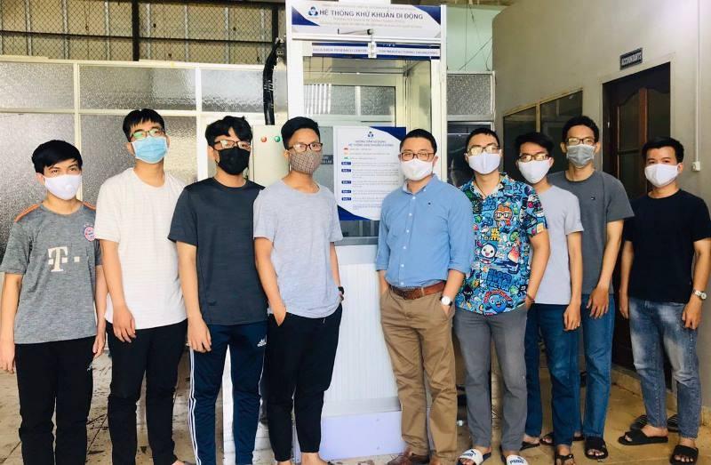 Trường ĐH Bách khoa chế tạo thành công buồng khử khuẩn di động - ảnh 2