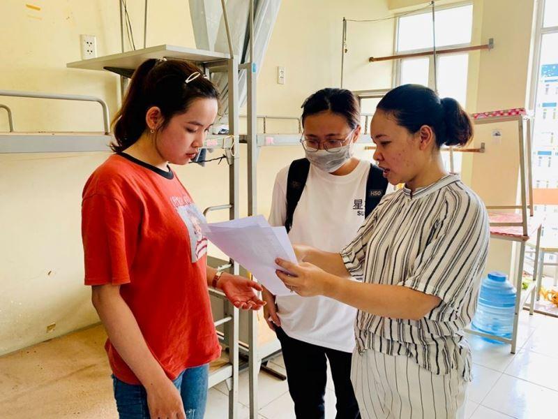 Ký túc xá ĐHQG TP.HCM bắt đầu đón sinh viên trở lại nội trú - ảnh 9