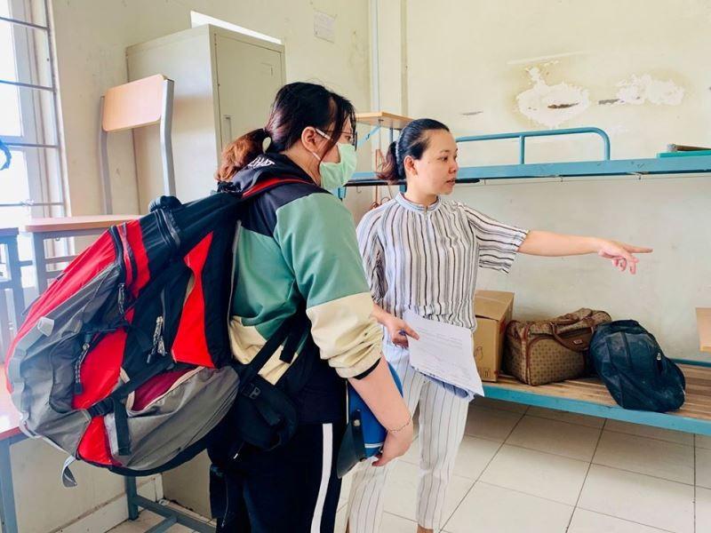 Ký túc xá ĐHQG TP.HCM bắt đầu đón sinh viên trở lại nội trú - ảnh 8