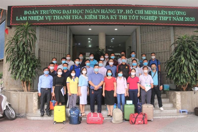 Giảng viên các trường ĐH đồng loạt rời TP.HCM đi làm thi THPT - ảnh 4