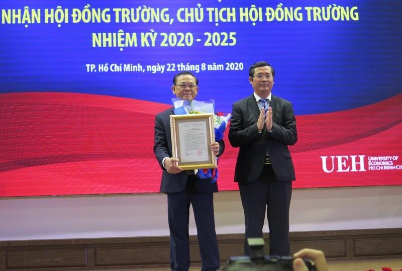 Trường ĐH Kinh tế TP.HCM chính thức công bố Hội đồng trường - ảnh 2