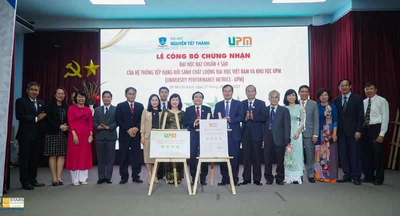 Trường ĐH ngoài công lập đầu tiên ở Việt Nam đạt chuẩn 4 sao - ảnh 1