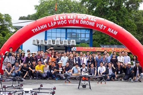 Lần đầu tiên Việt Nam có Học viện máy bay không người lái - ảnh 2