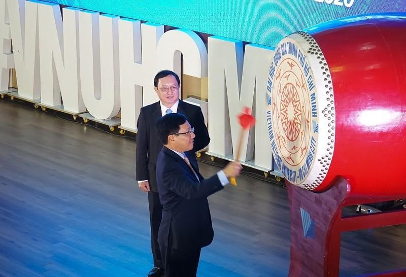 Phó Thủ tướng Phạm Bình Minh dự Khai khóa ĐH Quốc gia TP.HCM - ảnh 2