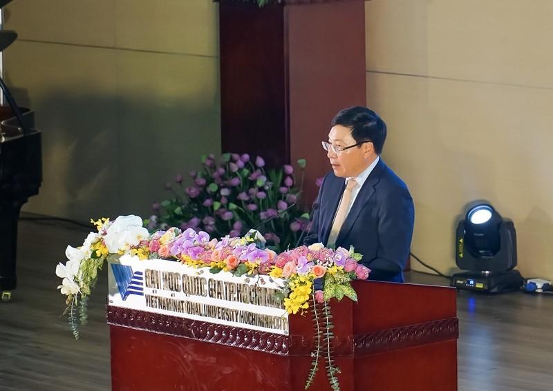Phó Thủ tướng Phạm Bình Minh dự Khai khóa ĐH Quốc gia TP.HCM - ảnh 1