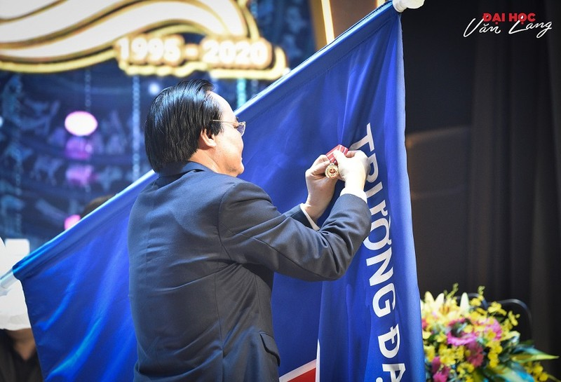 Trường Đại học Văn Lang kỷ niệm 25 năm thành lập - ảnh 1
