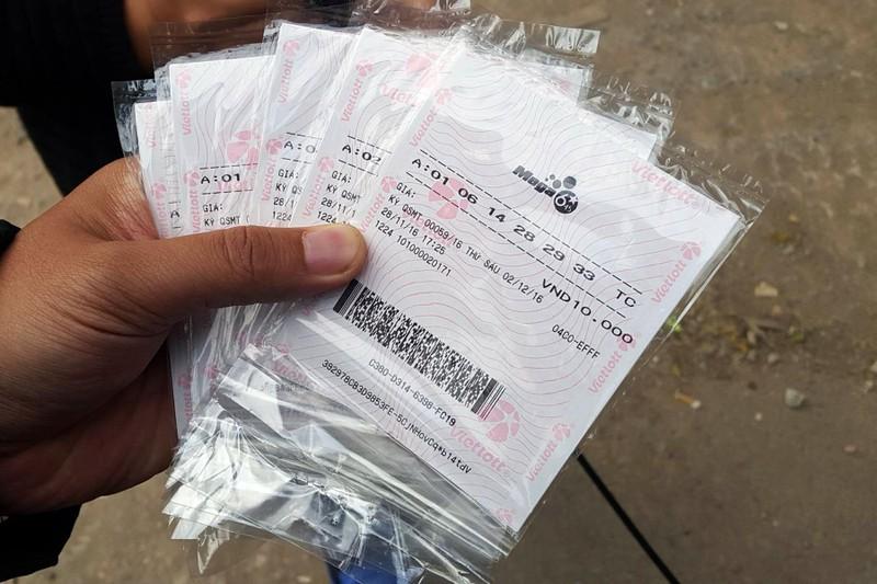 Chưa chính thức, xổ số Vietlott đã được bán ở Hà Nội - ảnh 2