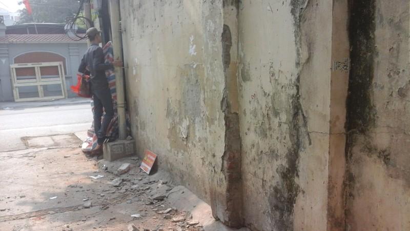 Sập tường trường mầm non, một người tử vong - ảnh 2