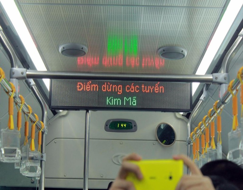 xe buýt nhanh BRT từ Kim Mã đến Bến xe Yên Nghĩa