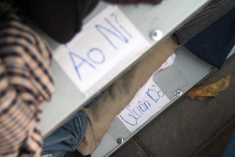 Hà Nội: Xuất hiện tủ quần áo miễn phí cho người nghèo - ảnh 3