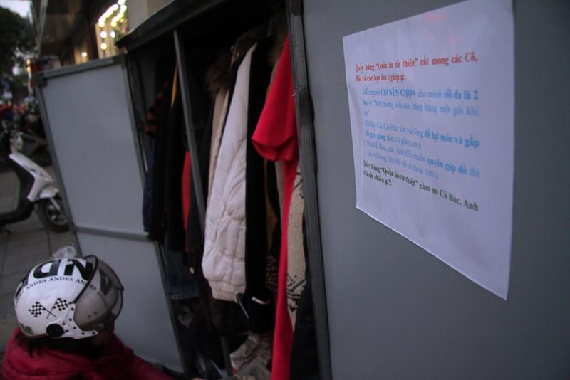 Hà Nội: Xuất hiện tủ quần áo miễn phí cho người nghèo - ảnh 6