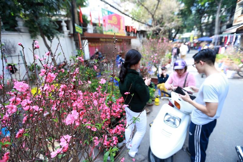 Chợ hoa Hàng Lược nhộn nhịp những ngày giáp Tết - ảnh 7