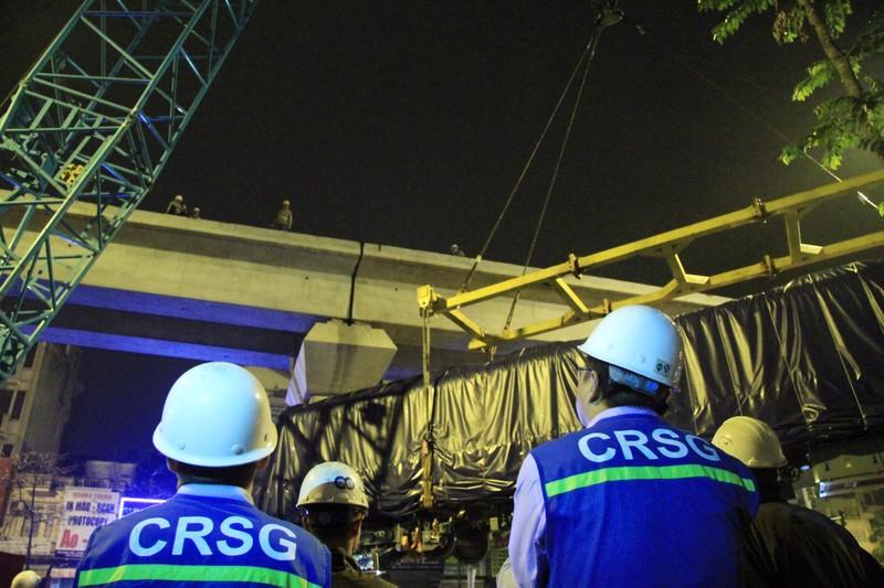 Đường sắt Cát Linh - Hà Đông: Lên ray toa tàu đầu tiên - ảnh 13