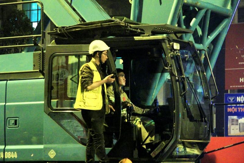Đường sắt Cát Linh - Hà Đông: Lên ray toa tàu đầu tiên - ảnh 14