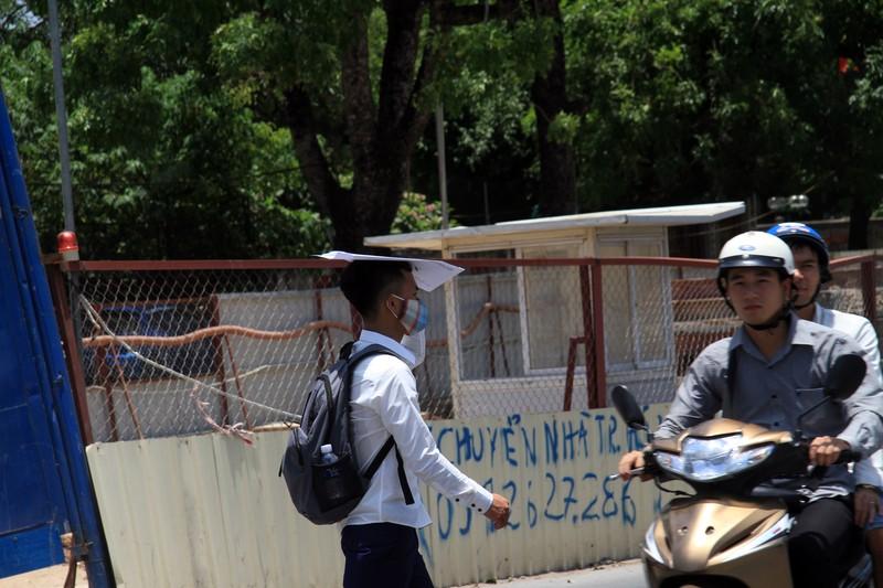 Dân đội nắng đi qua những con đường từng chặt hạ cây - ảnh 8