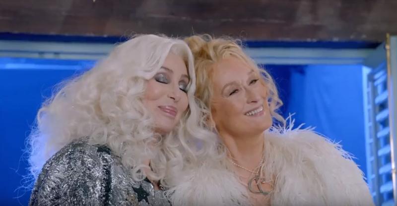 Mamma Mia 2!: Ngắm vẻ đẹp quyến rũ của Cher trong 'Fernando' - ảnh 2