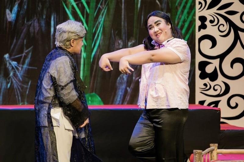 Minh Nhí ăn ý với Gia Bảo trong minishow 'Vẽ 1 nụ cười' - ảnh 11