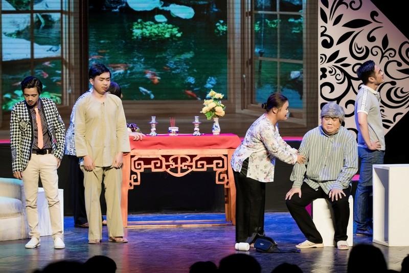Minh Nhí ăn ý với Gia Bảo trong minishow 'Vẽ 1 nụ cười' - ảnh 17