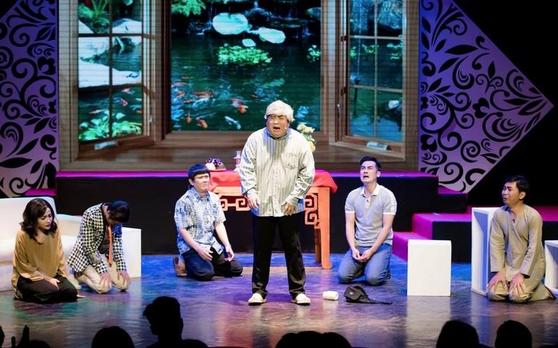 Minh Nhí ăn ý với Gia Bảo trong minishow 'Vẽ 1 nụ cười' - ảnh 18
