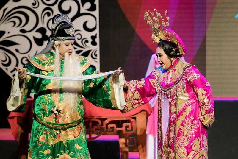 Minh Nhí ăn ý với Gia Bảo trong minishow 'Vẽ 1 nụ cười' - ảnh 8