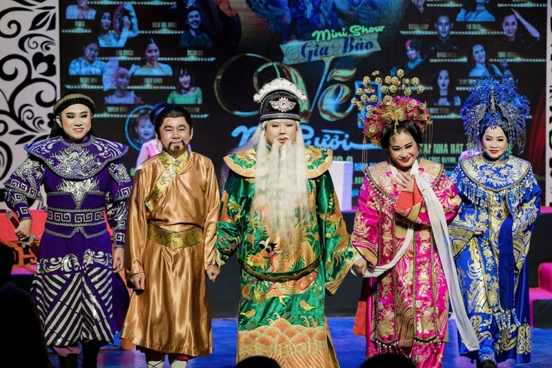 Minh Nhí ăn ý với Gia Bảo trong minishow 'Vẽ 1 nụ cười' - ảnh 9