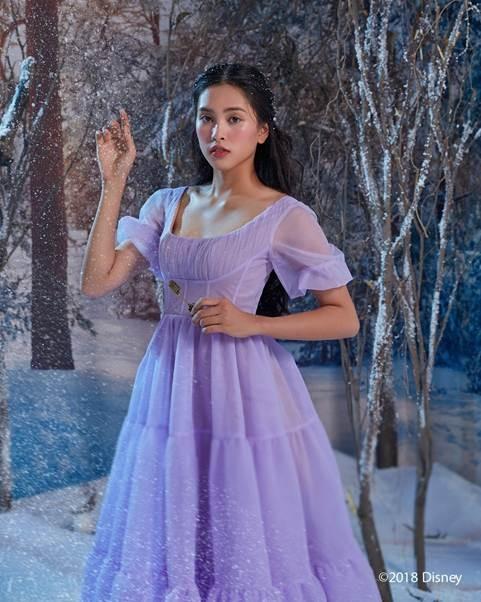 Tiểu Vy bất ngờ xuất hiện trên fanpage của 'Disney Studios' - ảnh 3
