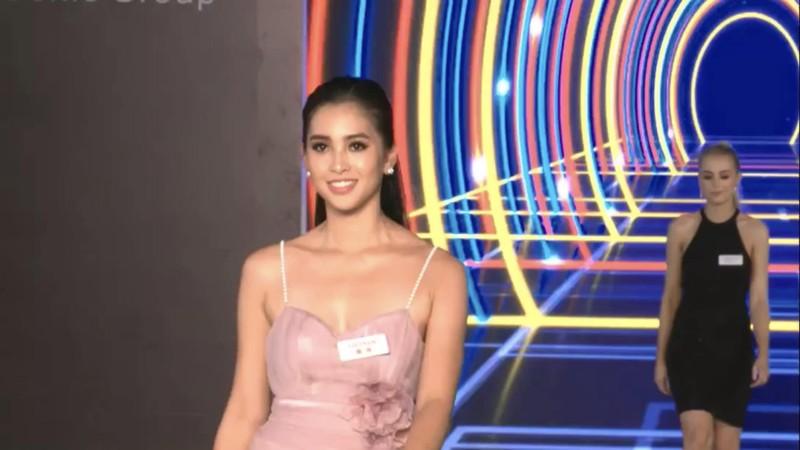 Hoa hậu Tiểu Vy xuất sắc lọt top 32 phần thi Top Model  - ảnh 1