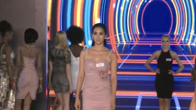 Hoa hậu Tiểu Vy xuất sắc lọt top 32 phần thi Top Model  - ảnh 3