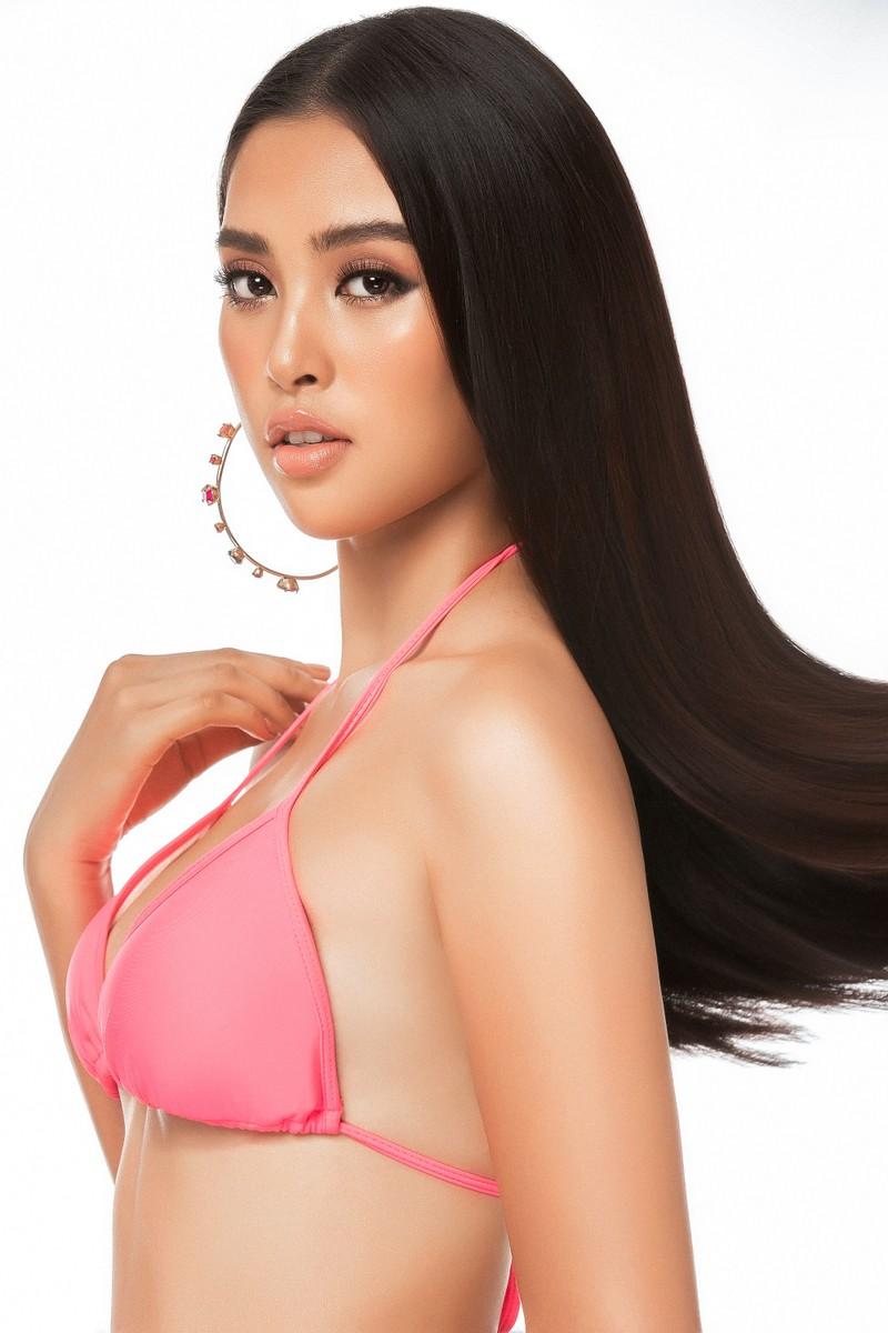 Tiểu Vy diện bikini nóng bỏng khoe vẻ đẹp chuẩn thế giới  - ảnh 2