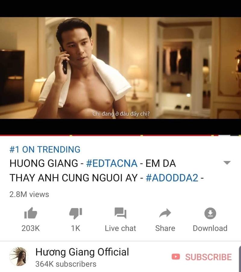 MV mới của Hương Giang lên top 1 Youtube sau 9 giờ - ảnh 1