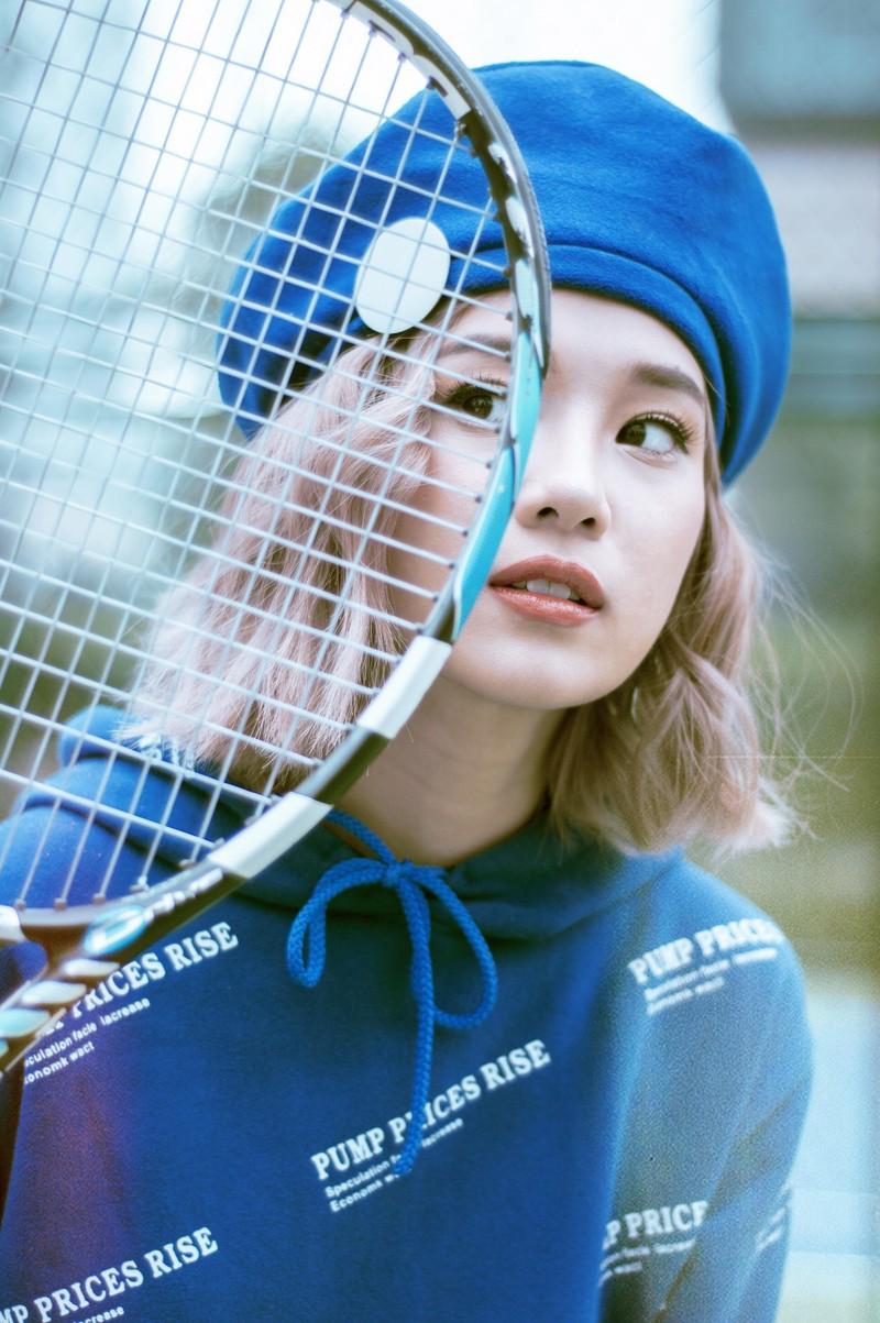 Ngắm Hoàng Yến Chibi năng động trong loạt ảnh thể thao - ảnh 3