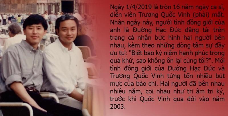 Nỗi băn khoăn của Trương Quốc Vinh trước lúc qua đời - ảnh 1