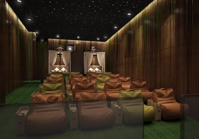 Dịp lễ, xem phim qua rạp chiếu trong rừng đầu tiên ở Việt Nam - ảnh 4